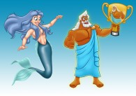 Greek Mythology Character Designs