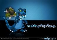 Blue Raptor – Mascot